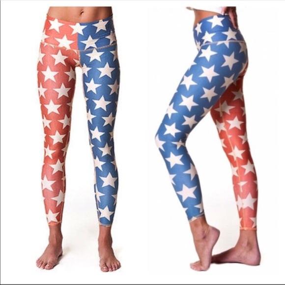 dbb5c6a8ed teeki Pants | Star Power Hot Yoga Leggings Large | Poshmark